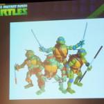 SDCC 2013 : le Panel, Teenage Mutant Ninja Turtles