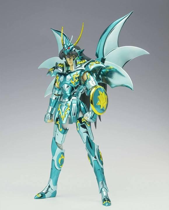 Armure divine du Dragon Renewal color 10e anniversaire saint seiya