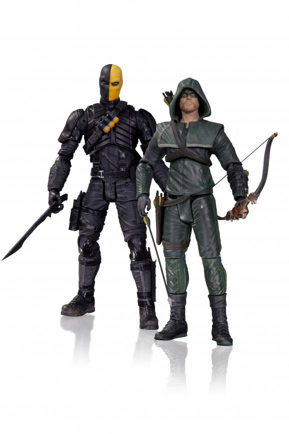 Arrow Oliver Queen Deathstroke Action Figure 2 Pack