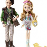 Ashlynn Ella et Hunter Huntsmen dans un 2 pack Ever After High