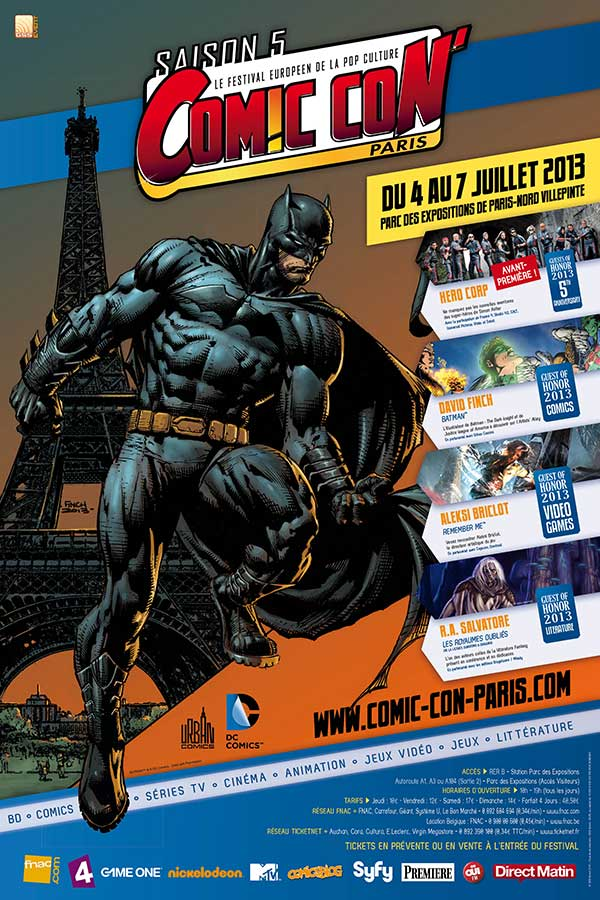 Comic Con Paris saison 05 affiche