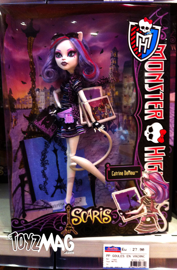Catrine DeMew Monster High exclu Joué Club