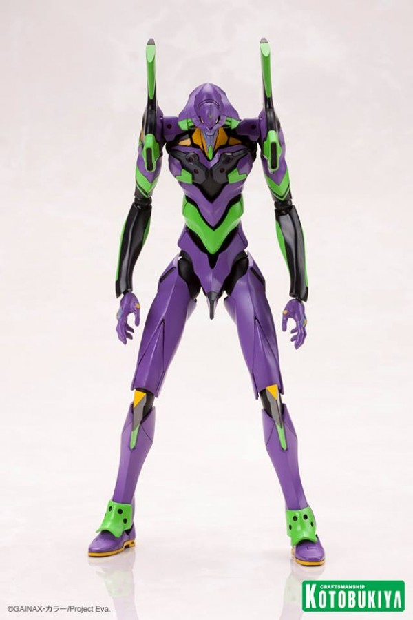 Evangelion EVA Unit 01 Plastic Model Kit (02)