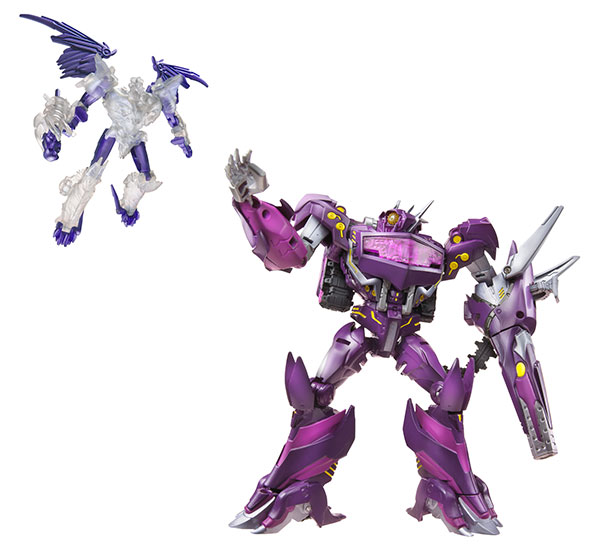 Hasbro-2013-SDCC-Transformers-Beast-Hunters_Shockwave-+-Predaking-copy