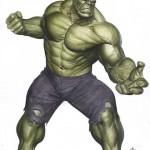 L'illustration du Hulk The Avengers Kotobukiya