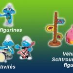 BANDAI: une nouvelle license pour les SCHTROUMPFS