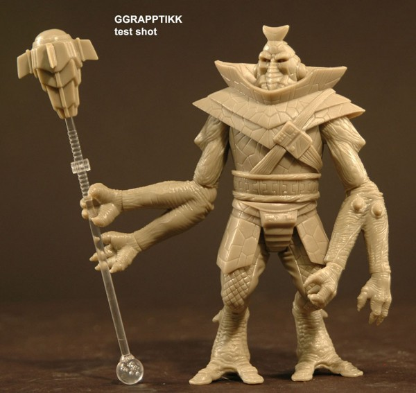 POWER LORDS: GGRAPPTIKK PRE-PRODUCTION FIGURE