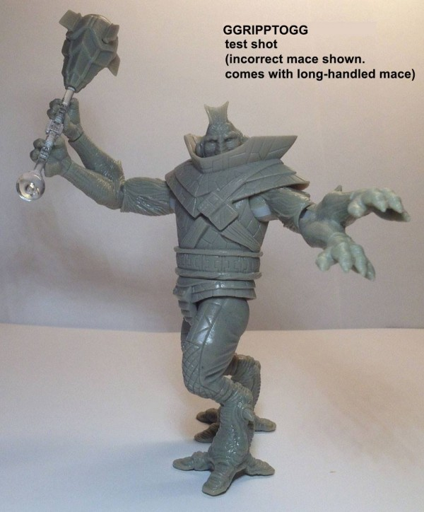 POWER LORDS: GGRIPPTOGG PRE-PRODUCTION FIGURE