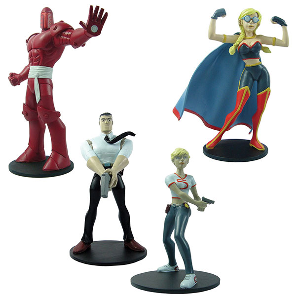Powers statuettes
