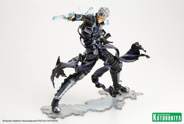 Vash The Stampede -The Gunman In Black- ARTFX J Statue Kotobukiya (2)