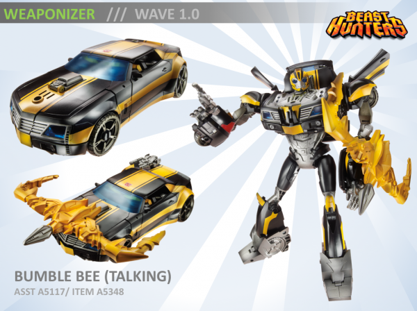 Weaponizers Talking Bumblebee