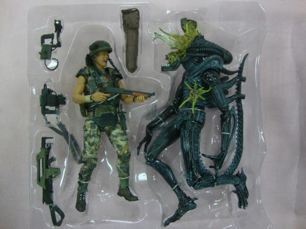 aliens neca 2pack hicks