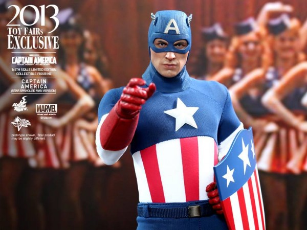 captain america marvel first avenger ww2 show exclu hot toys 2013 1