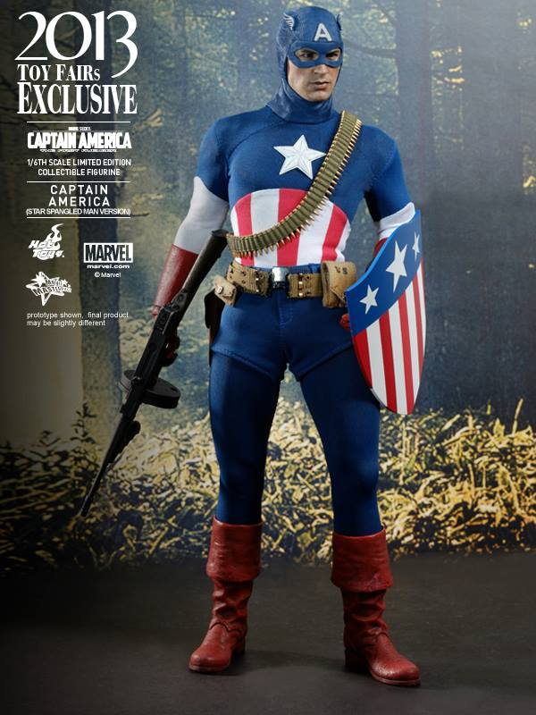 captain america marvel first avenger ww2 show exclu hot toys 2013 9