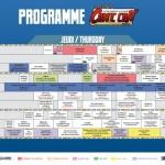 Comic Con' Paris J-1 : L'intégralité du programme