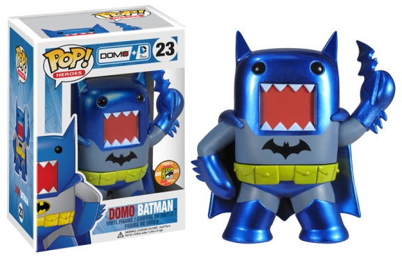 domo batman Pop!vinyl sdcc2013 exclu Funko