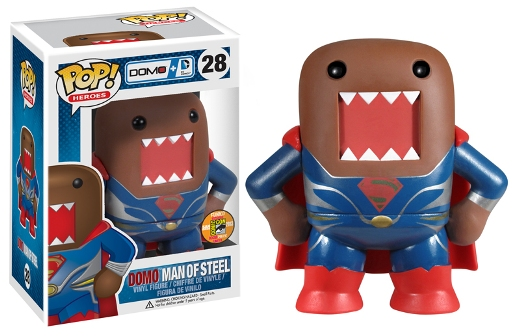domo Man of Steel Pop!vinyl sdcc2013 exclu Funko