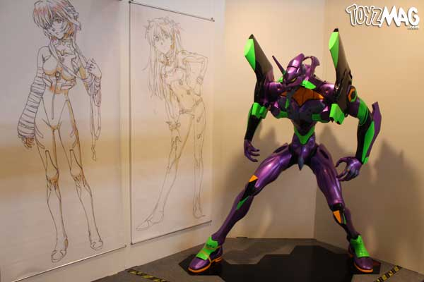 EVANGELION ANIME WORKS exposition japan Expo 14 2013