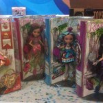 Ever After High, le packaging des poupées