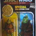 Guardia « Guacamole » Gamorrian Lili Ledy et Gamorrean vintage Power of The force