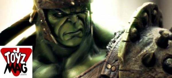 gladiator Hulk sideshow