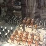 STAR WARS CELEBRATION - dioramas du stand Hasbro