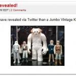 SDCC 2013 - présentation d'un Jumbo Wampa Gentle Giant