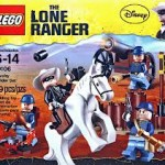 The Lone Ranger, les jouets LEGO