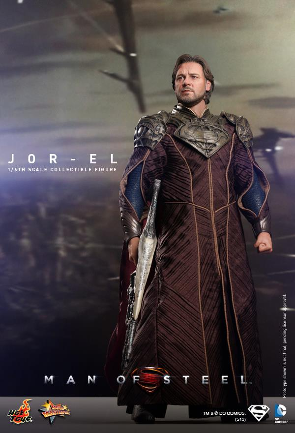 man of steel jor-el hot toys 1