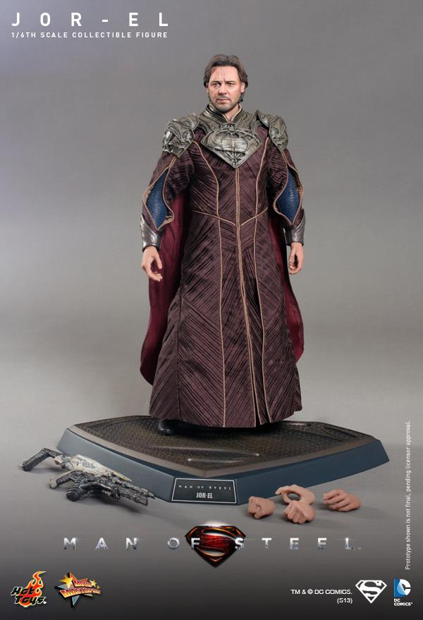 man of steel jor-el hot toys 12