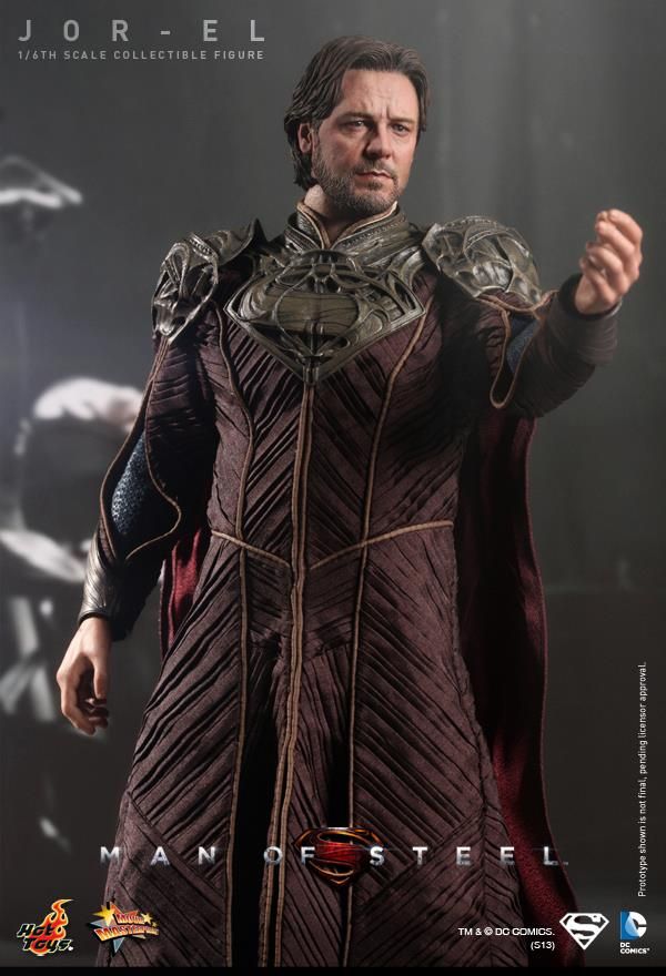 man of steel jor-el hot toys 4