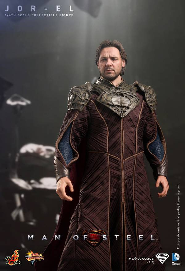 man of steel jor-el hot toys 5