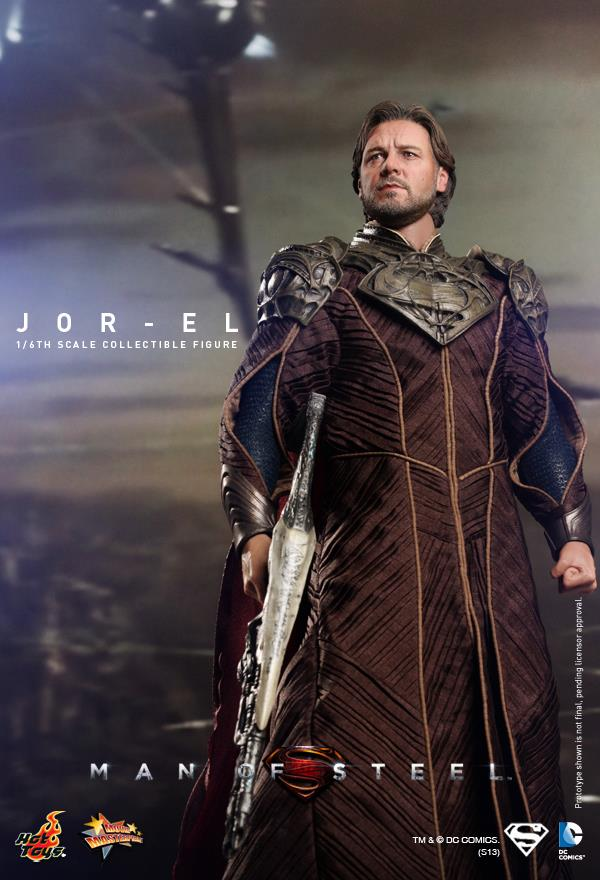 man of steel jor-el hot toys 6