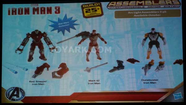 box set with TonyMARVEL hasbro sdcc2013 iron man 3