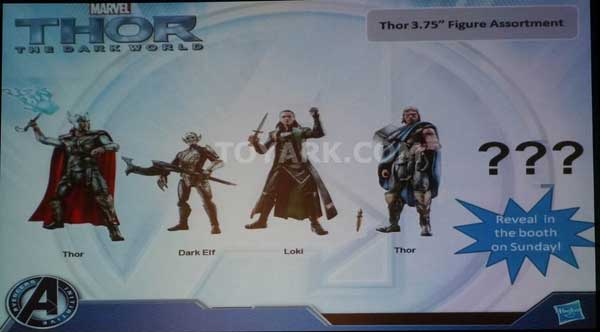 Thor the dark age SDCC 2013 HASBRO