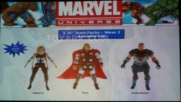 3-Packs are coming to an end with the Asgardian and Astonishing X-Men
