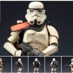 Kotobukiya : Star Wars Sandtrooper Squad Leader pack ArtFX+