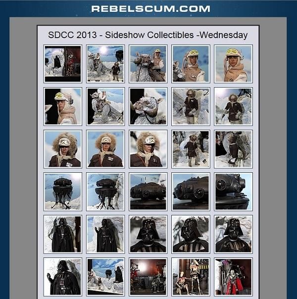 sideshow rebelscum gallery
