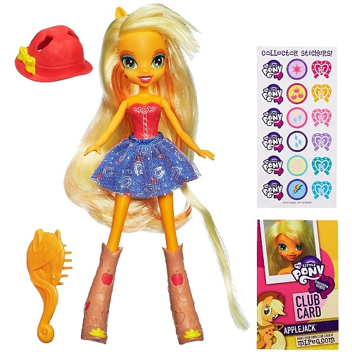 MLP Poupée Equestria Girls Apple Jack