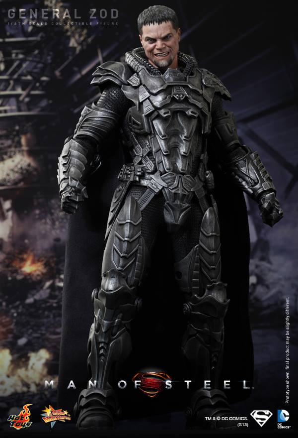Man of Steel General Zod hot toys 2