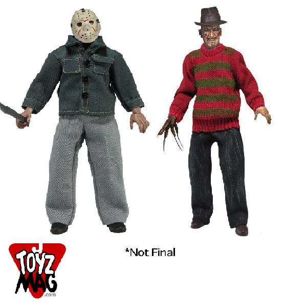 freddy jason figural doll neca 8in retro mego