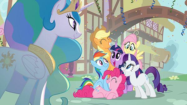 My little pony : Bienvenue à Ponyville – DVD Vol 1  les amies c'est magique