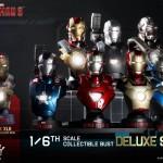 Hot Toys : une exclu pour les bustes 1/6 Iron Man