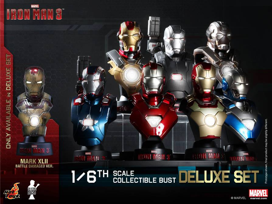 hot toys iron man buste 1