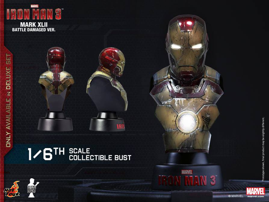 hot toys iron man buste 17