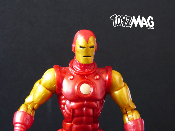 marvel legends hasbro iron man classic 2