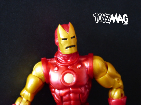 marvel legends hasbro iron man classic 5