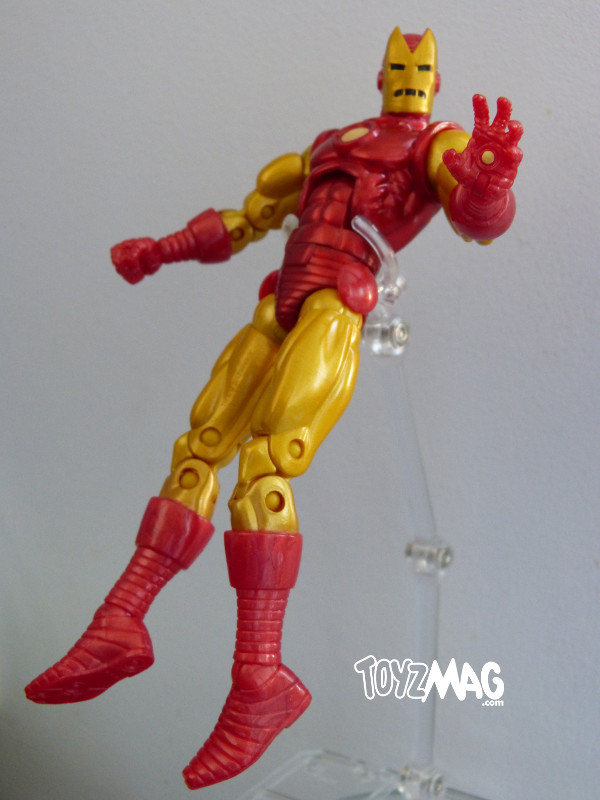 marvel legends hasbro iron man classic 6