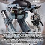 Robocop : l'ED-209 de NECA se précise