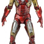 NECA : Iron Man battle damaged 45cm